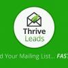 افزونه ایمیل مارکتینگ حرفهای و ساخت پاپ آپ |  Thrive Leads wordpress plugin
