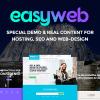 قالب شرکتی و خدمات آنلاین Easyweb