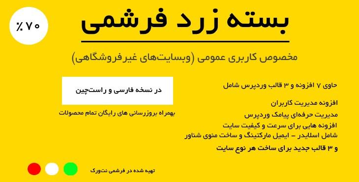بسته زرد (ساخت وبسایتهای عمومی) 3