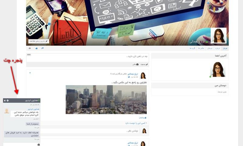 افزونه شبکه اجتماعی وردپرس پیپ سو |  Peepso Wordpress Plugin 6
