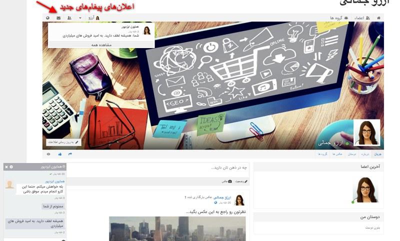 افزونه شبکه اجتماعی وردپرس پیپ سو |  Peepso Wordpress Plugin 7
