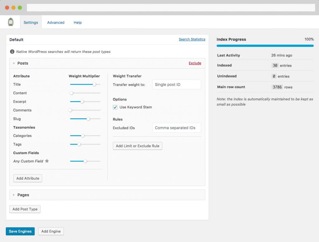 افزونه جستجو و فیلترینگ پیشرفته وردپرس | Searchwp Plugin به همراه کلیه ادآن ها 1