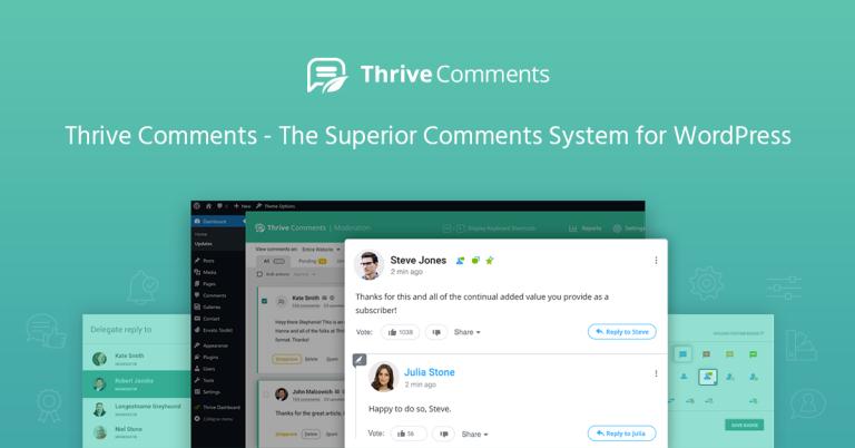 افزونه مدیریت نظرات وردپرس | Thrive Comments 22