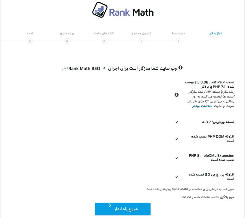 افزونه سئو و ارتقای رنک وردپرس | Rank Math Plugin 6