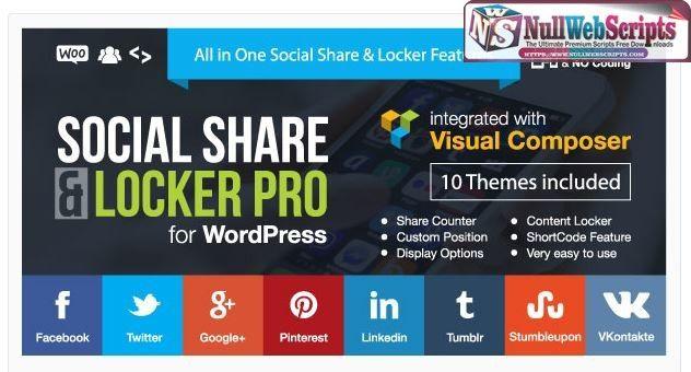افزونه اشتراک گذاری اجتماعی و قفل محتوای Social Share and Locker 5