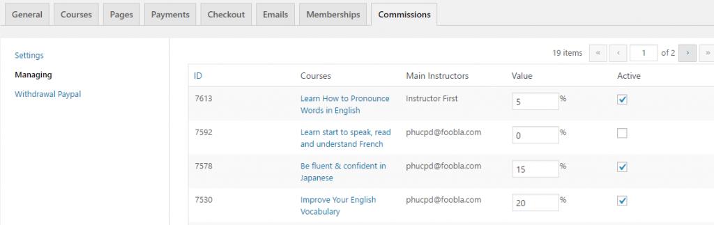 مجموعه ادآن های افزونه آموزش آنلاین learnpress 5