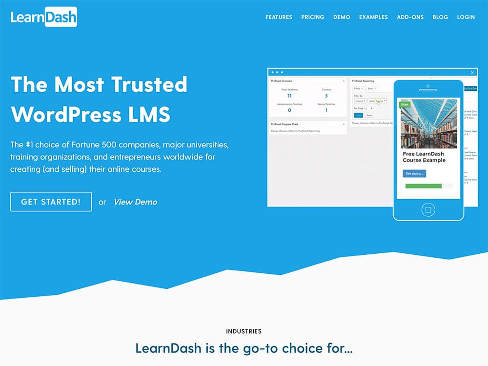 افزونه دوره ساز و مدیریت آموزش learndash به همراه تمام addon ها 1