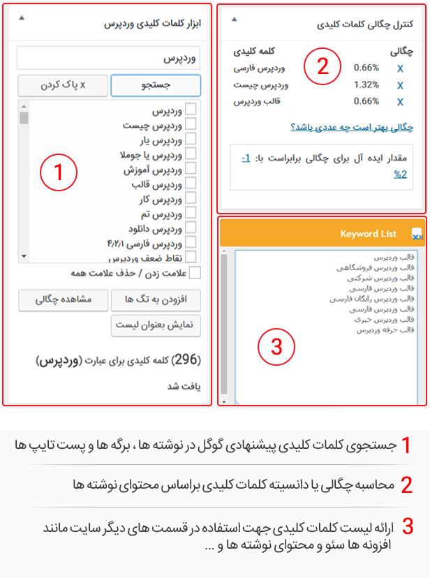 افزونه ردیابی کلمه کلیدی و رتبه سئو | SEO keyword tool and rank tracker 4