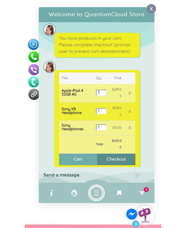 افزونه روبات وردپرس و ووکامرس | WP chatbot pro & woobot pro 4