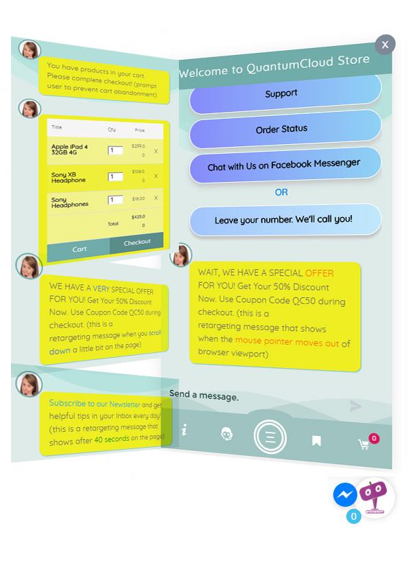 افزونه روبات وردپرس و ووکامرس | WP chatbot pro & woobot pro 3