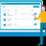 افزونه جدول محصولات ووکامرس | Woocommerce Product Tables
