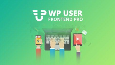 افزونه پیشخوان حرفهای کاربران وردپرس | WP User Frontend Pro 1