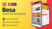قالب چندفروشندگی ووکامرس بسا | Besa Multi-vendor Woocommerce Theme 3