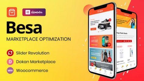 قالب چندفروشندگی ووکامرس بسا | Besa Multi-vendor Woocommerce Theme 7
