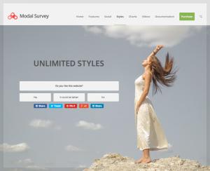 افزونه نظرسنجی مودال | Modal Survey 8