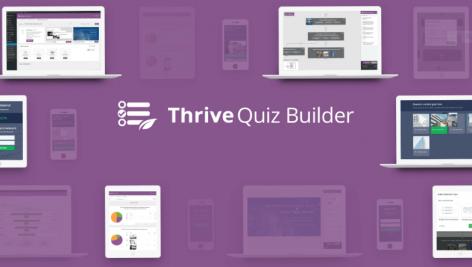 افزونه آزمون ساز ترایو | Thrive Quiz Builder 6