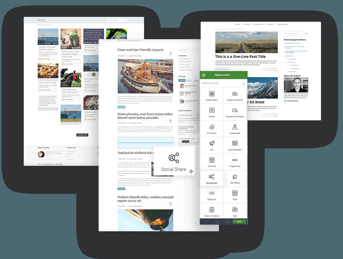 افزونه صفحه ساز Thrive Architect 5
