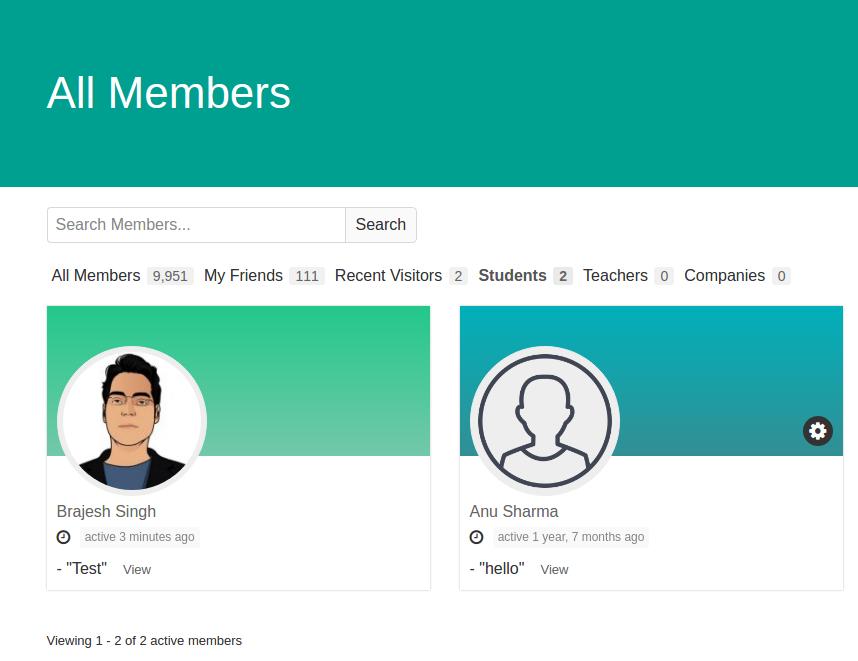 افزونه انواع عضو بادی پرس | Buddypress Member Types Pro 2