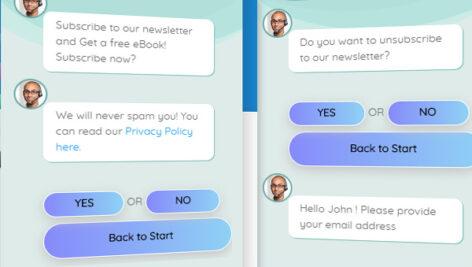 ادآن چت زنده برای روبات وردپرس | Live Chat addon forr chatbot 1