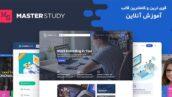 قالب آموزش آنلاین مستر استادی به همراه اپلیکیشن | Masterstudy theme 5