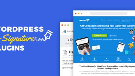 افزونه امضای الکترونیکی وردپرس | WP E Signature به همراه ادآن ها 1