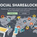 افزونه اشتراک گذاری اجتماعی و قفل محتوای Social Share and Locker