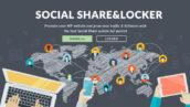 افزونه اشتراک گذاری اجتماعی و قفل محتوای Social Share and Locker 16