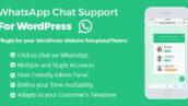 افزونه پشتیبانی واتس اپ برای وردپرس | Whatsapp Support 8